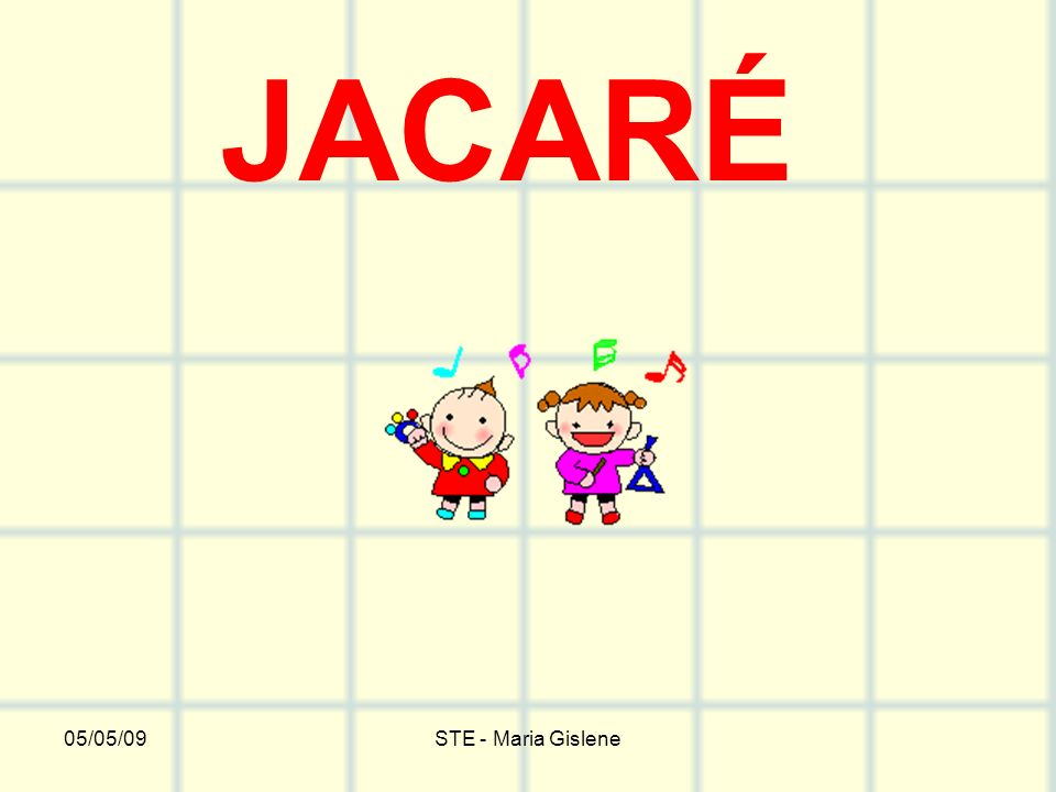 JACARÉ 05/05/09 STE - Maria Gislene