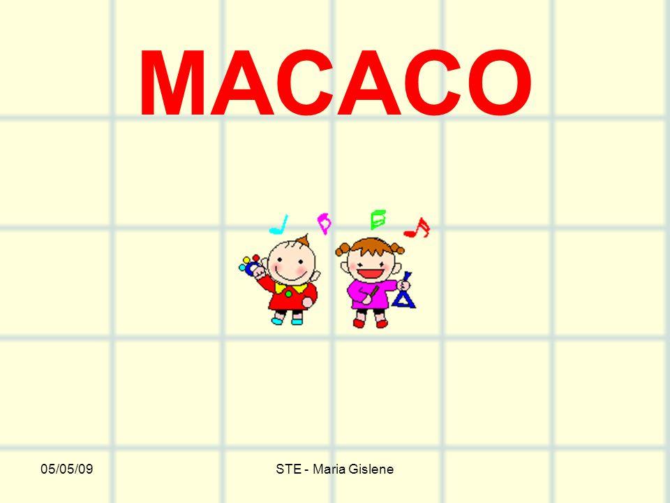 MACACO 05/05/09 STE - Maria Gislene