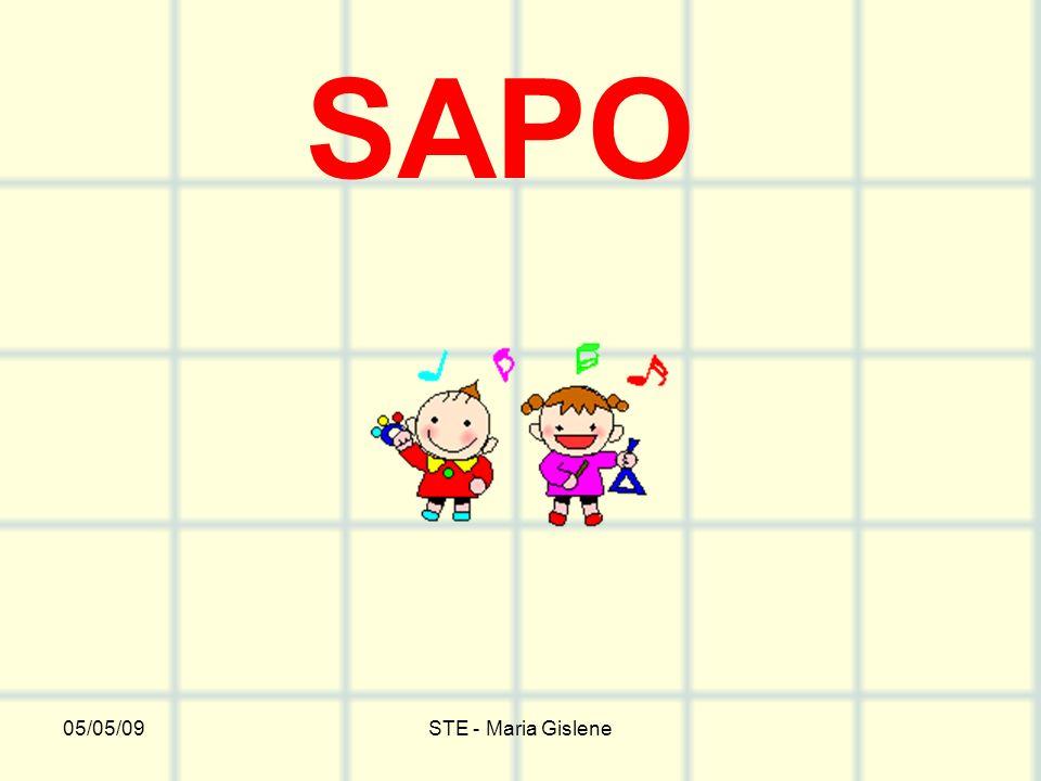 SAPO 05/05/09 STE - Maria Gislene
