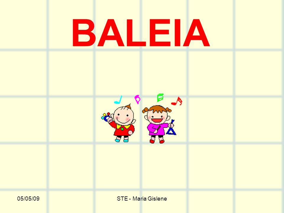 BALEIA 05/05/09 STE - Maria Gislene