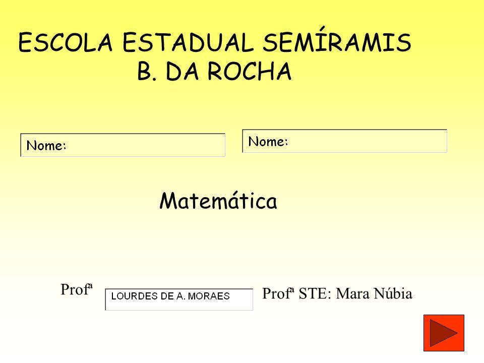 ESCOLA ESTADUAL SEMÍRAMIS B. DA ROCHA