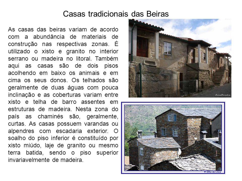 Casas tradicionais das Beiras