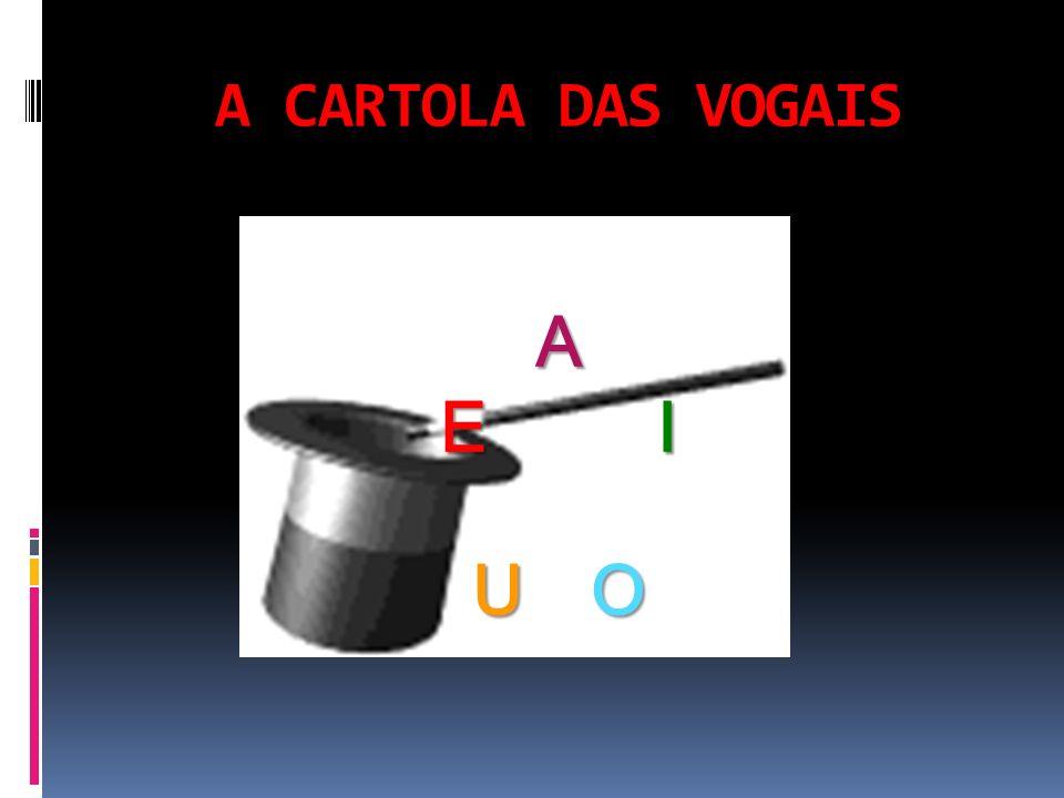 A CARTOLA DAS VOGAIS A E I U O