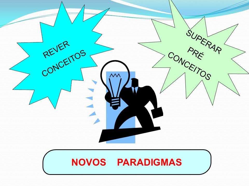 REVER CONCEITOS SUPERAR PRÉ CONCEITOS NOVOS PARADIGMAS
