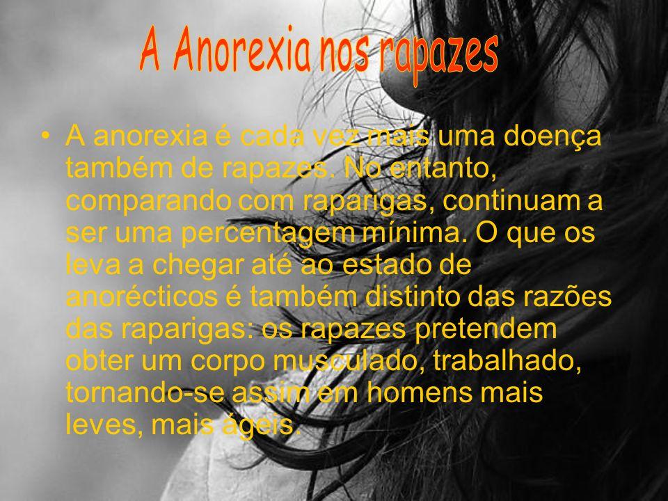 A Anorexia nos rapazes