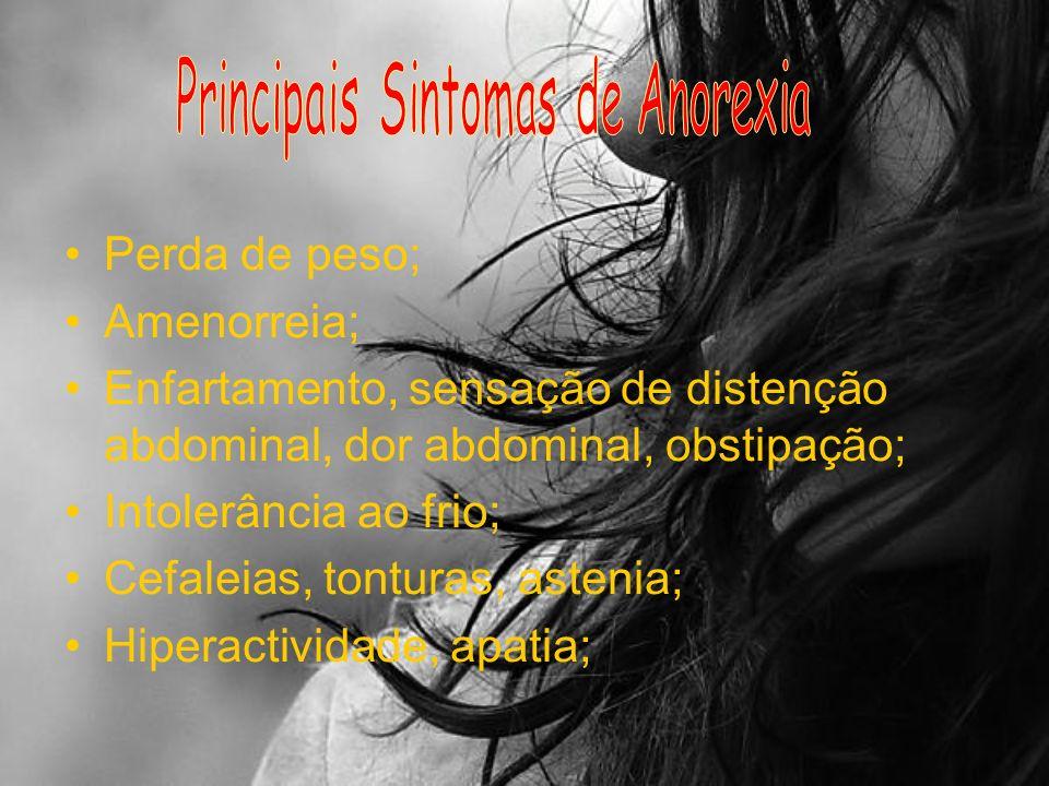 Principais Sintomas de Anorexia