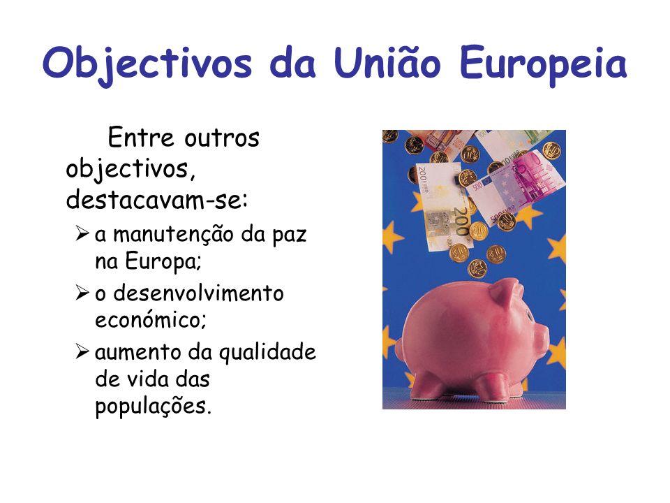 Objectivos da União Europeia