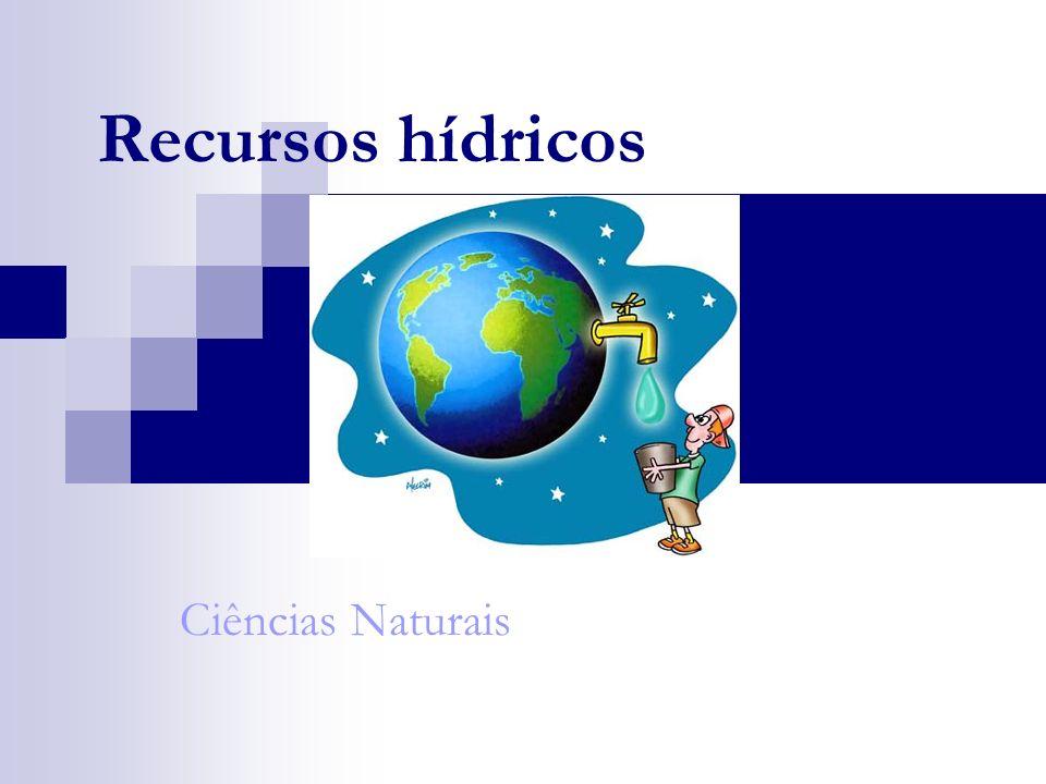 Recursos hídricos Ciências Naturais