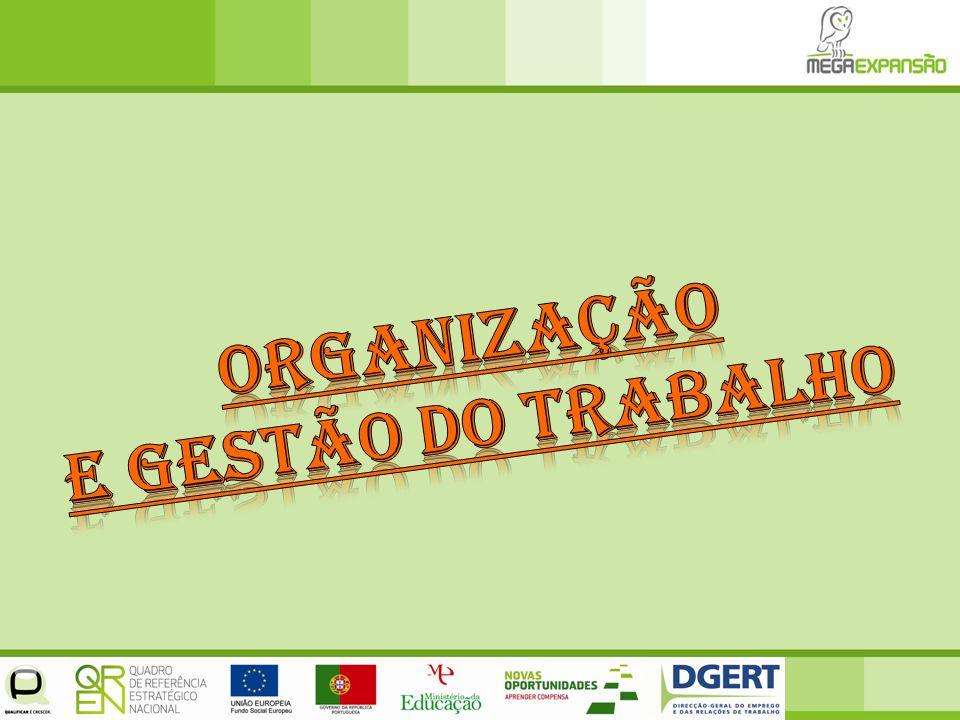 Organização e Gestão do trabalho