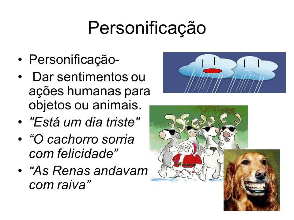 Personificação Personificação-