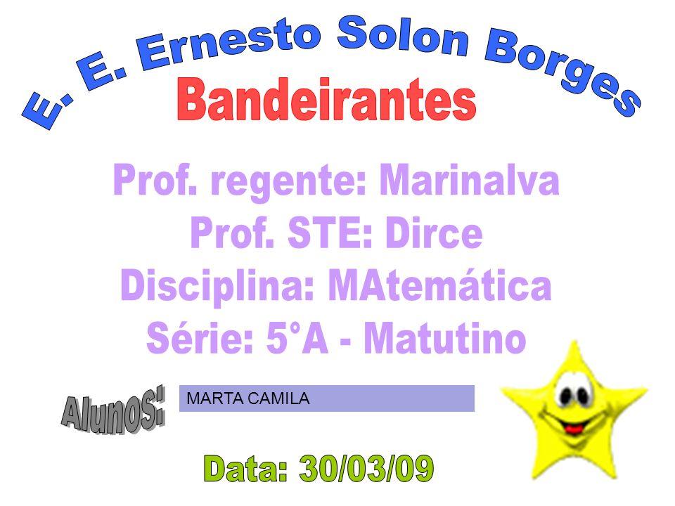 E. E. Ernesto Solon Borges Bandeirantes