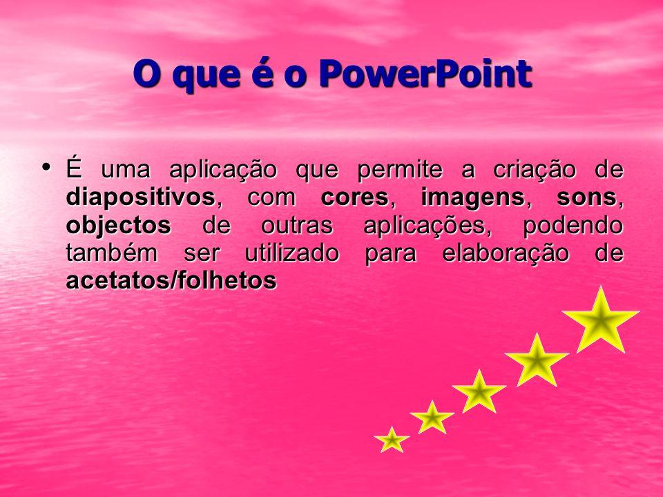O que é o PowerPoint