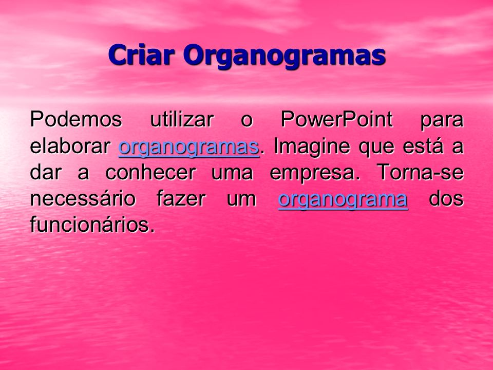 Criar Organogramas