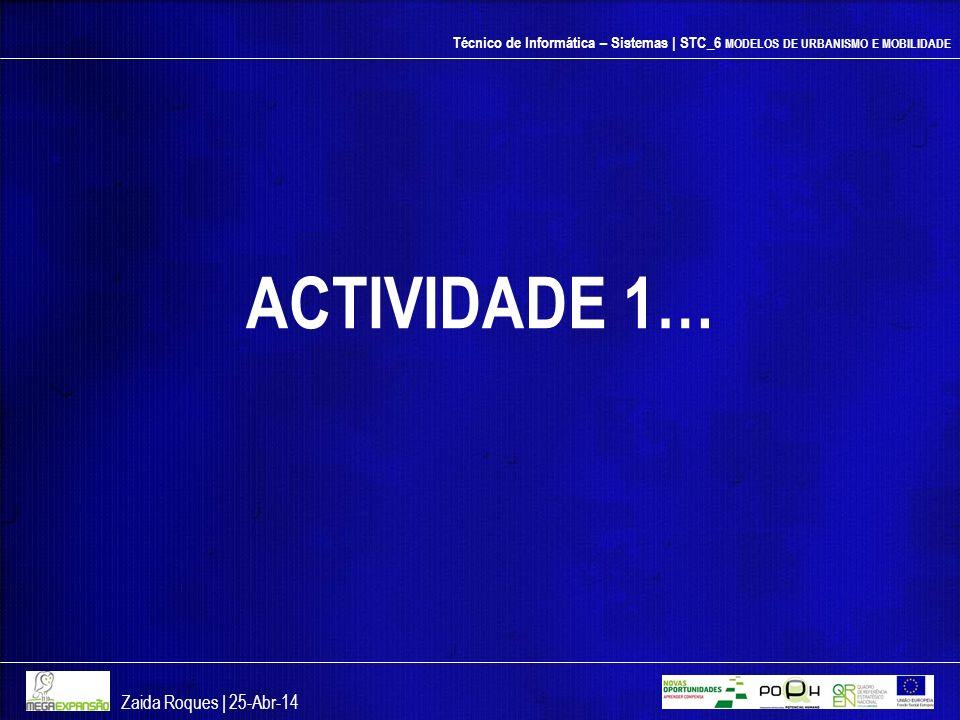 ACTIVIDADE 1… Zaida Roques | 26-mar-17