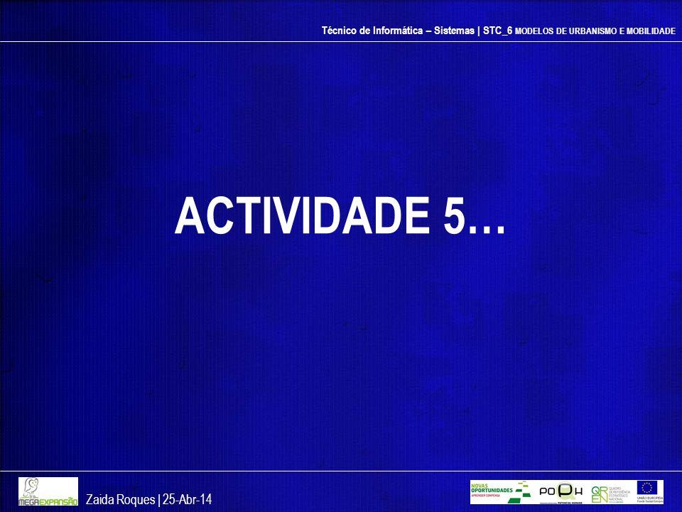 ACTIVIDADE 5… Zaida Roques | 26-mar-17