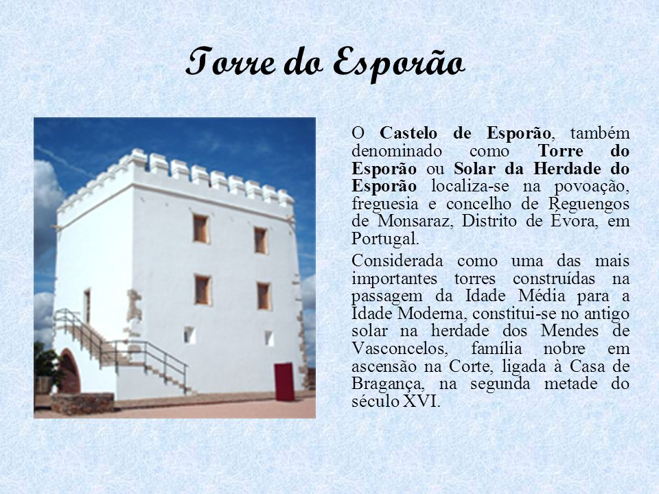 Torre do Esporão