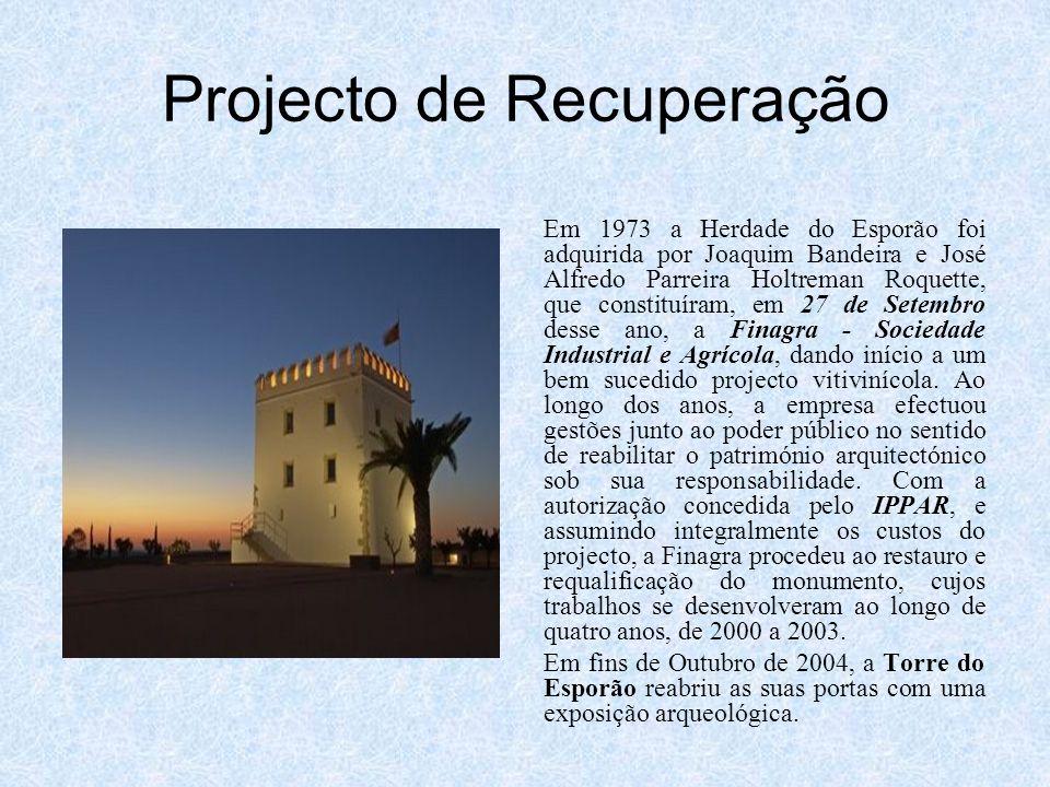 Projecto de Recuperação