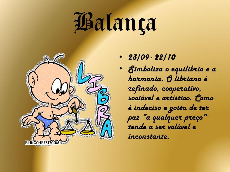 Balança23/09 - 22/10.