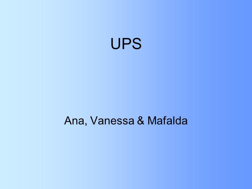 UPS Ana, Vanessa & Mafalda