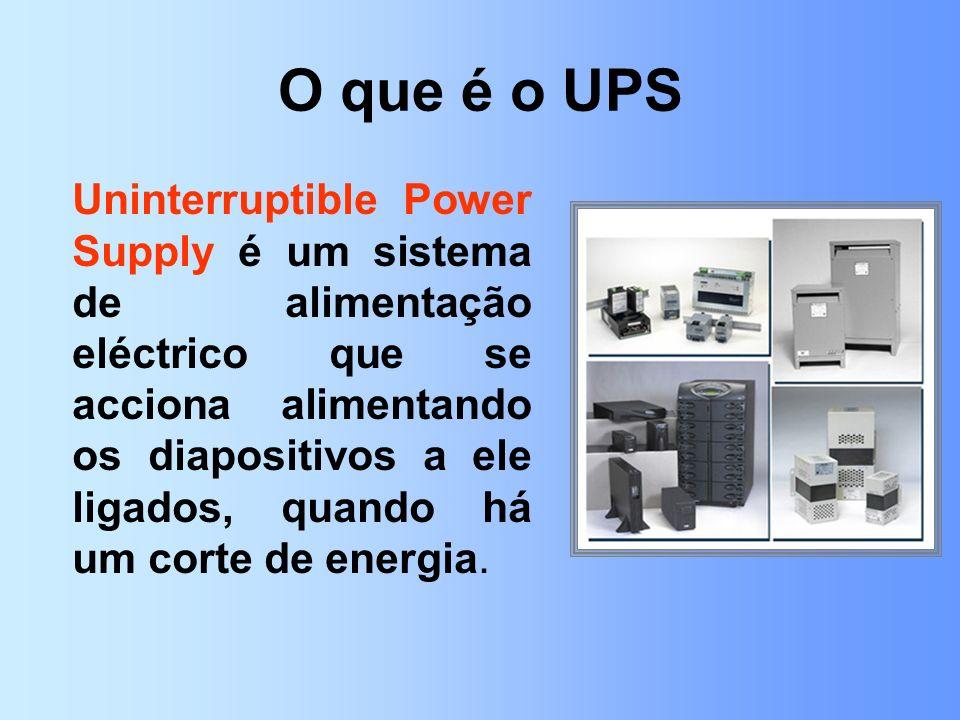 O que é o UPS