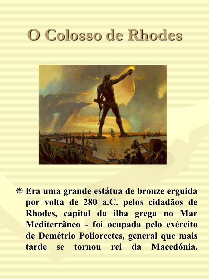 O Colosso de Rhodes