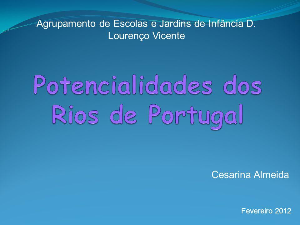 Potencialidades dos Rios de Portugal