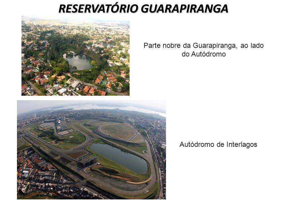 RESERVATÓRIO GUARAPIRANGA