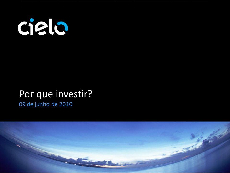 Por que investir 09 de junho de 2010