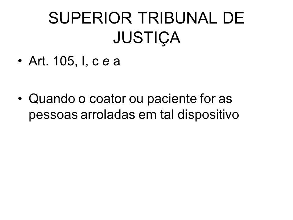 SUPERIOR TRIBUNAL DE JUSTIÇA