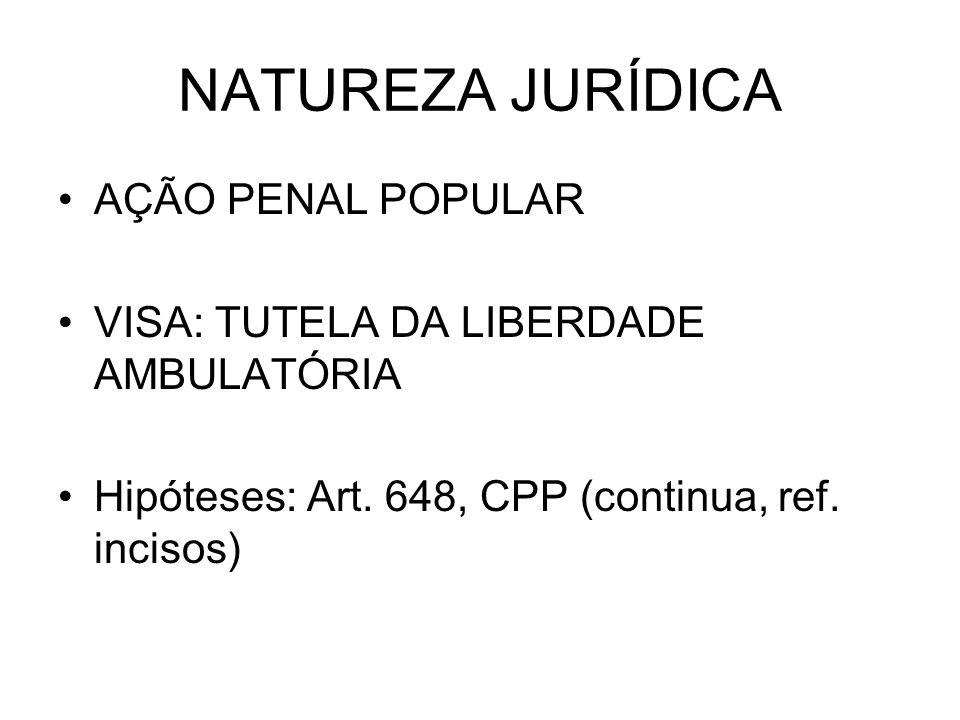 NATUREZA JURÍDICA AÇÃO PENAL POPULAR