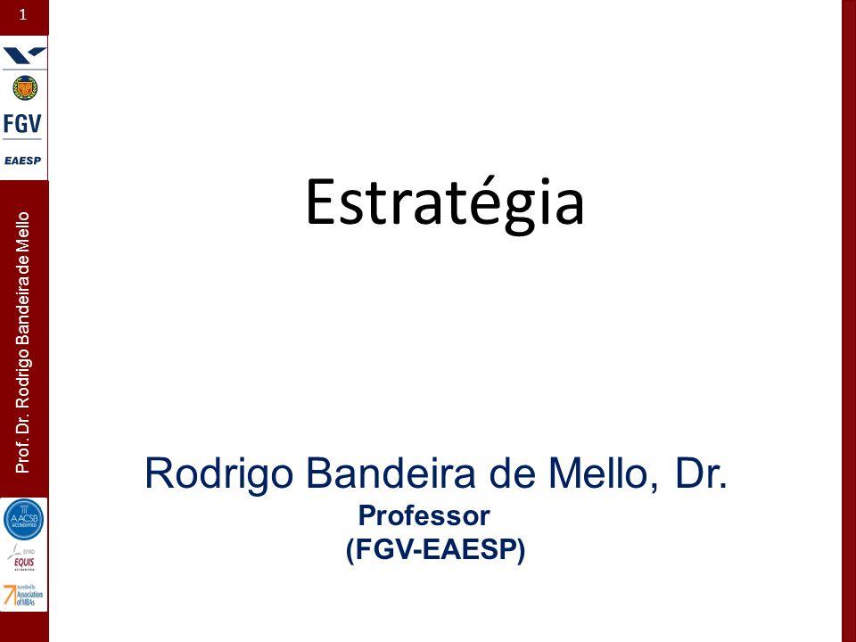 Rodrigo Bandeira de Mello, Dr.
