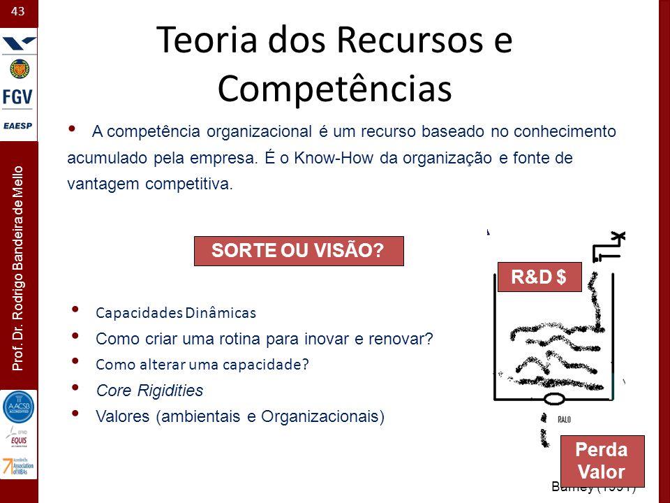 Teoria dos Recursos e Competências