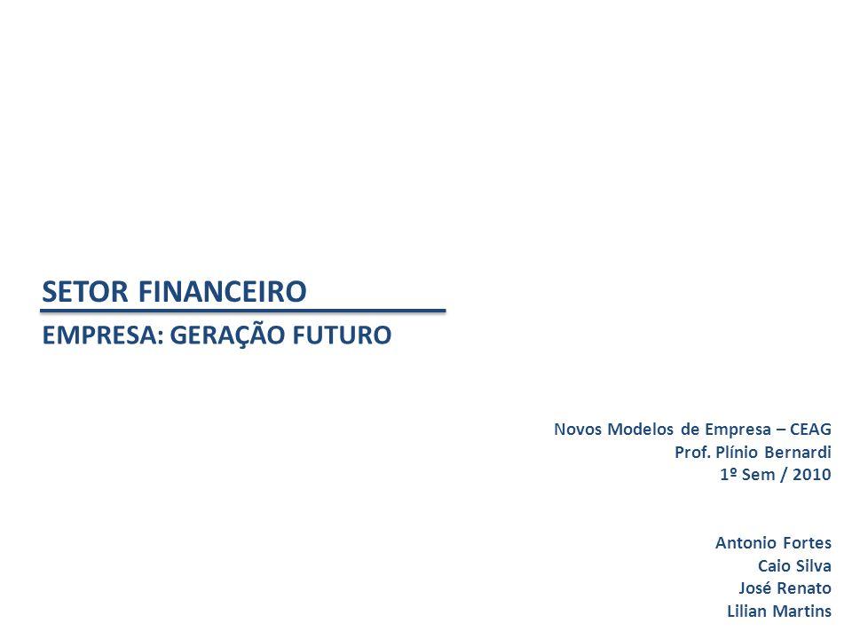 SETOR FINANCEIRO EMPRESA: GERAÇÃO FUTURO