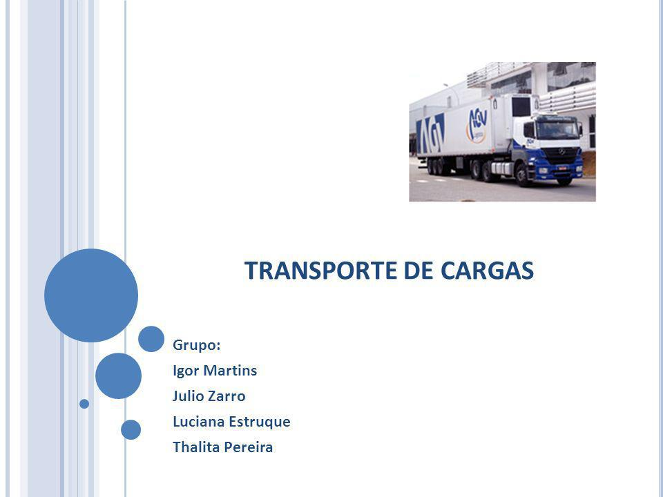 Grupo: Igor Martins Julio Zarro Luciana Estruque Thalita Pereira