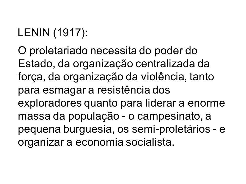 LENIN (1917):