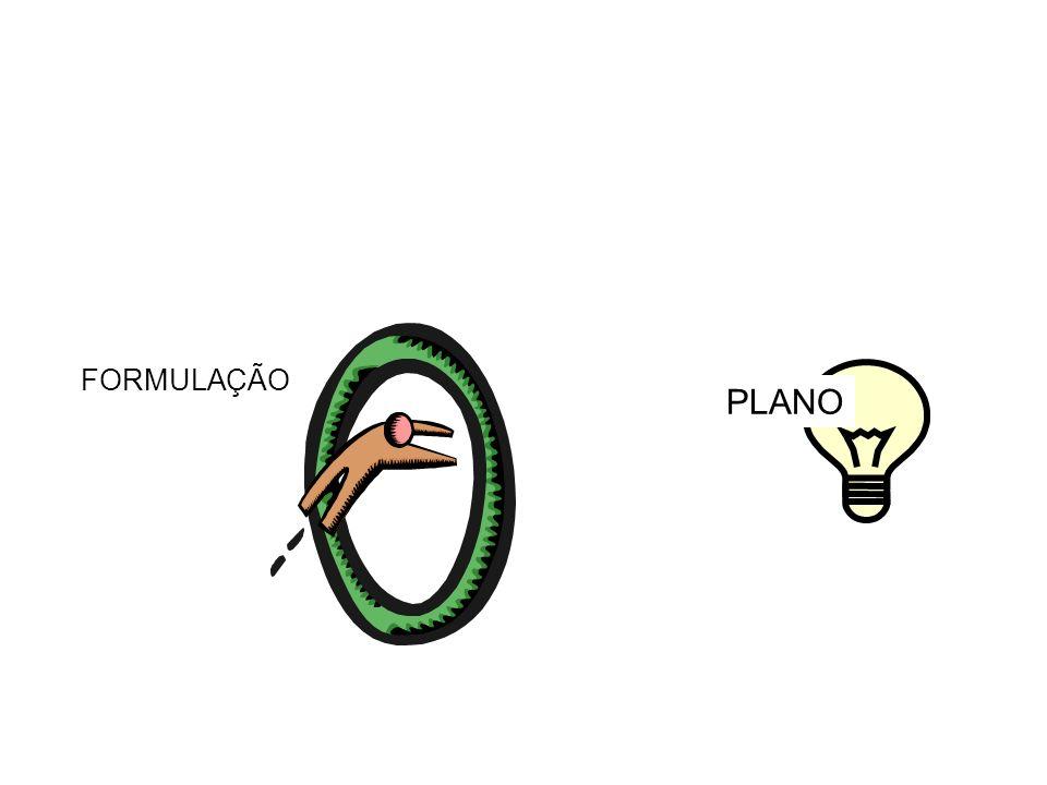 FORMULAÇÃO PLANO