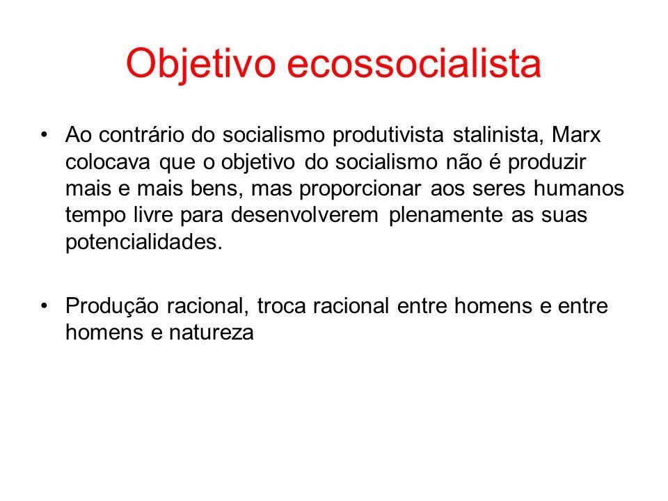Objetivo ecossocialista
