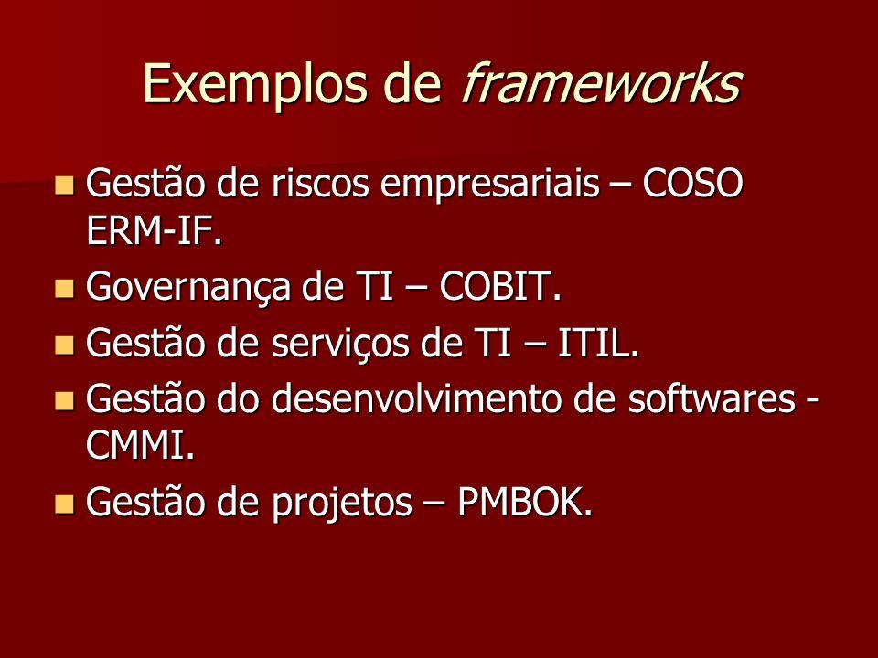 Exemplos de frameworks