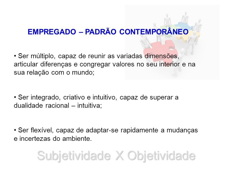 EMPREGADO – PADRÃO CONTEMPORÂNEO