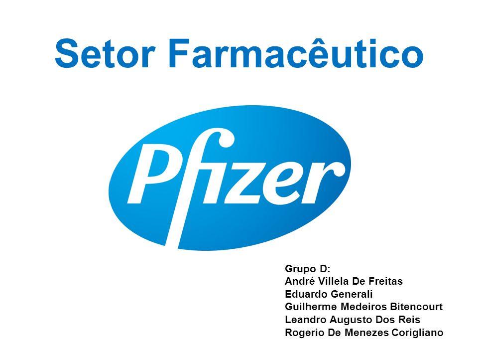Setor Farmacêutico Grupo D: André Villela De Freitas Eduardo Generali