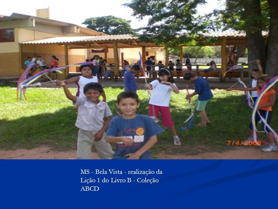 MS - Bela Vista - realização da Lição 1 do Livro B - Coleção ABCD