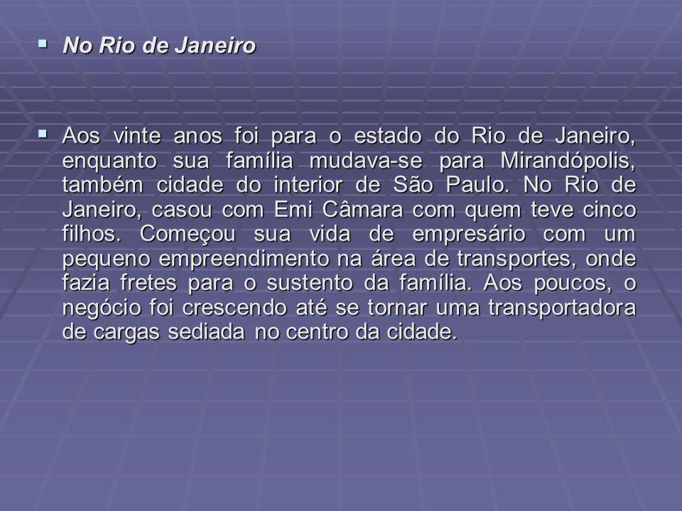 No Rio de Janeiro