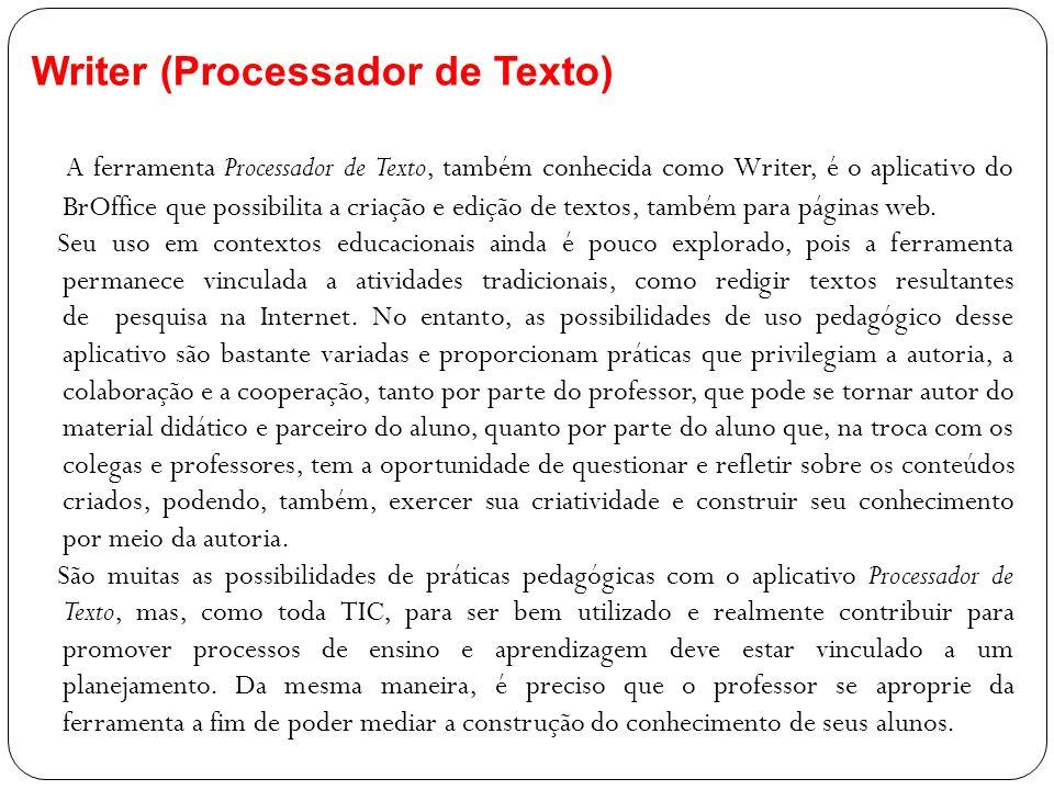 Writer (Processador de Texto)