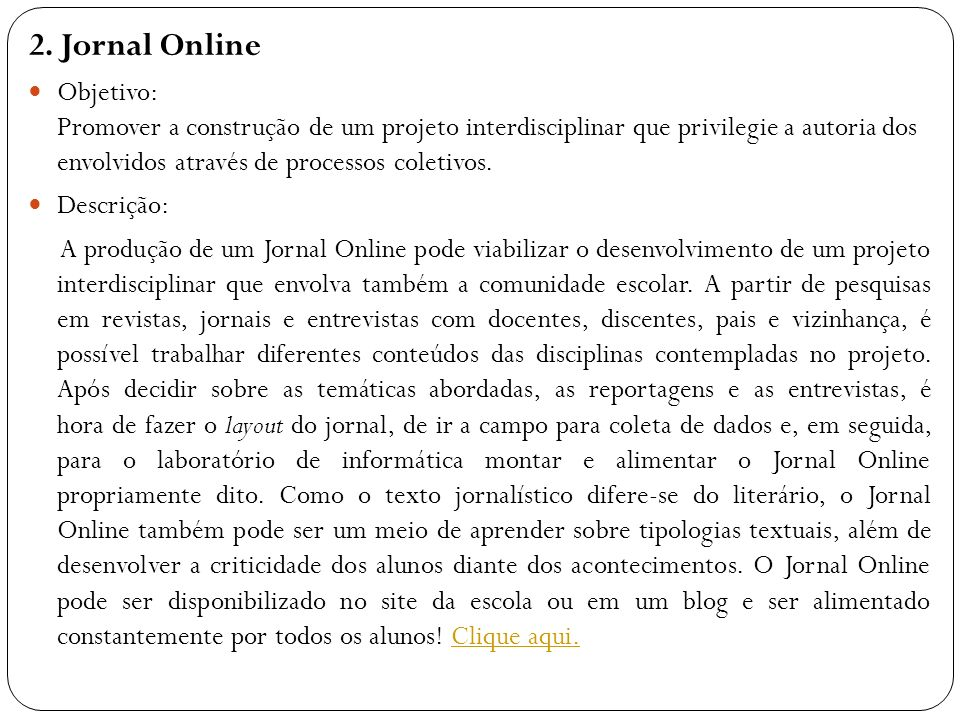 2. Jornal Online