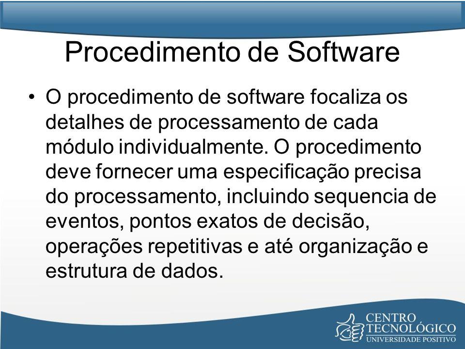 Procedimento de Software