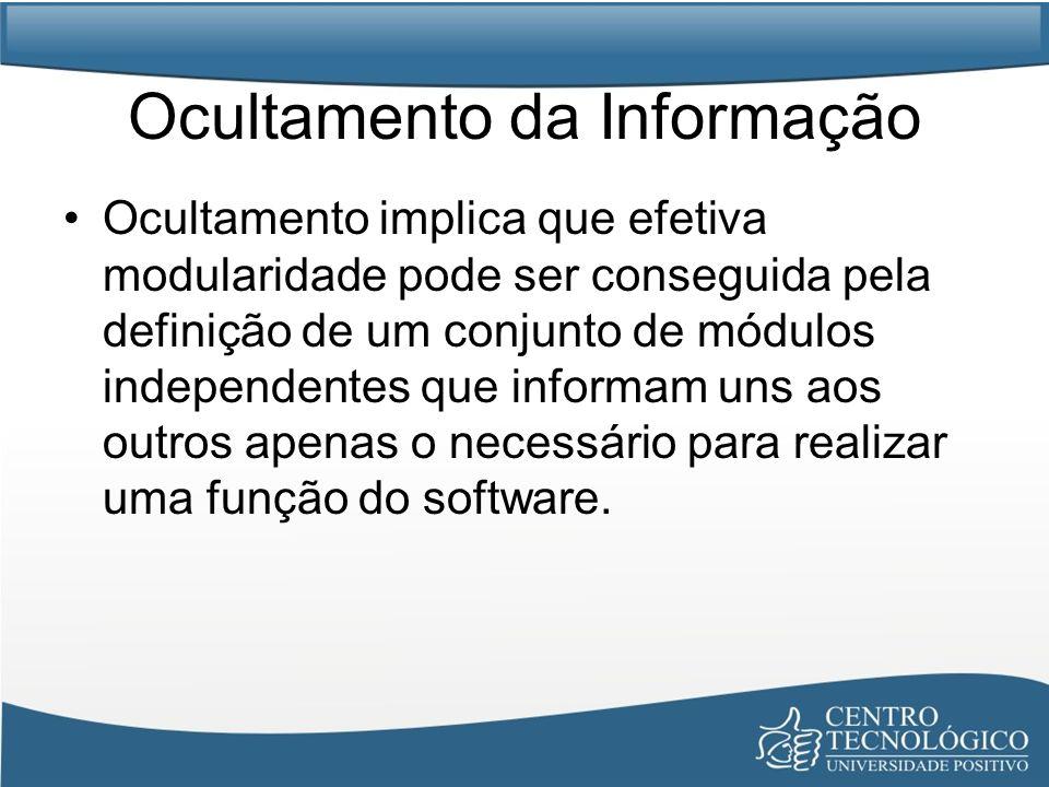 Ocultamento da Informação