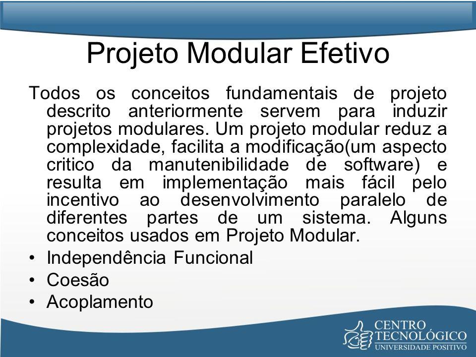 Projeto Modular Efetivo