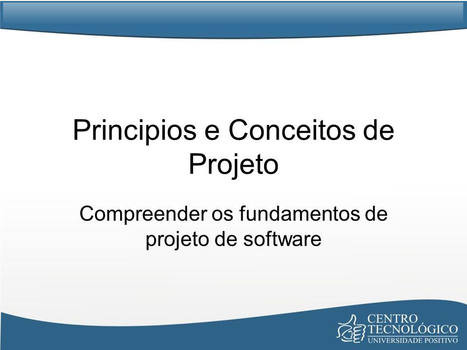 Principios e Conceitos de Projeto