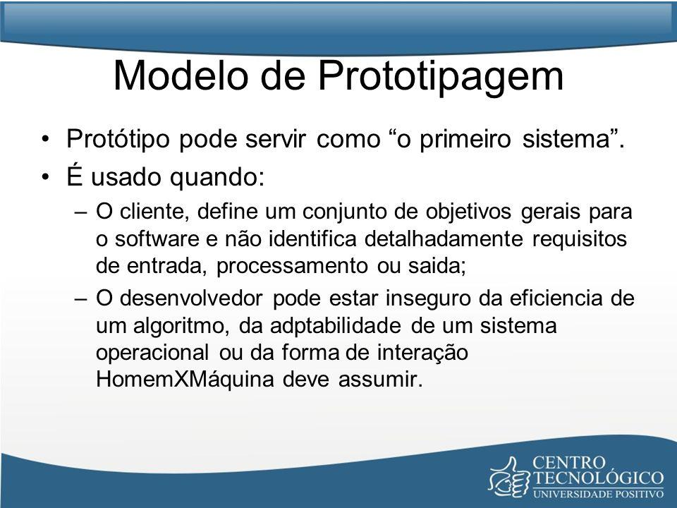Modelo de Prototipagem