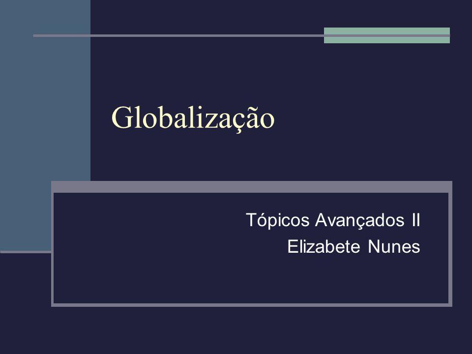 Tópicos Avançados II Elizabete Nunes
